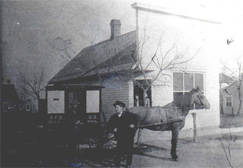 The Cherry Valley Post Office - 1908